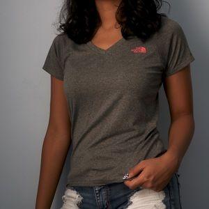Grey North Face T-Shirt
